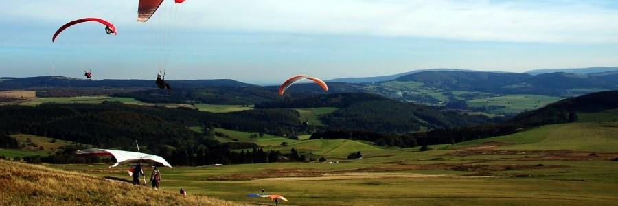 Gleitschirmfliegen / Paragliding