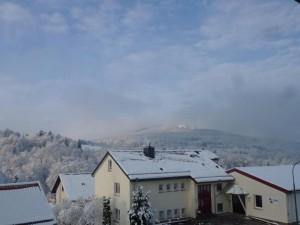 Schnee in der Rhön