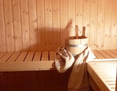 Wellness - Sauna & Salzgrotte