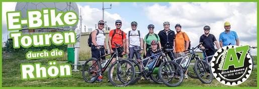 E-Bike Touren durch die Rhön