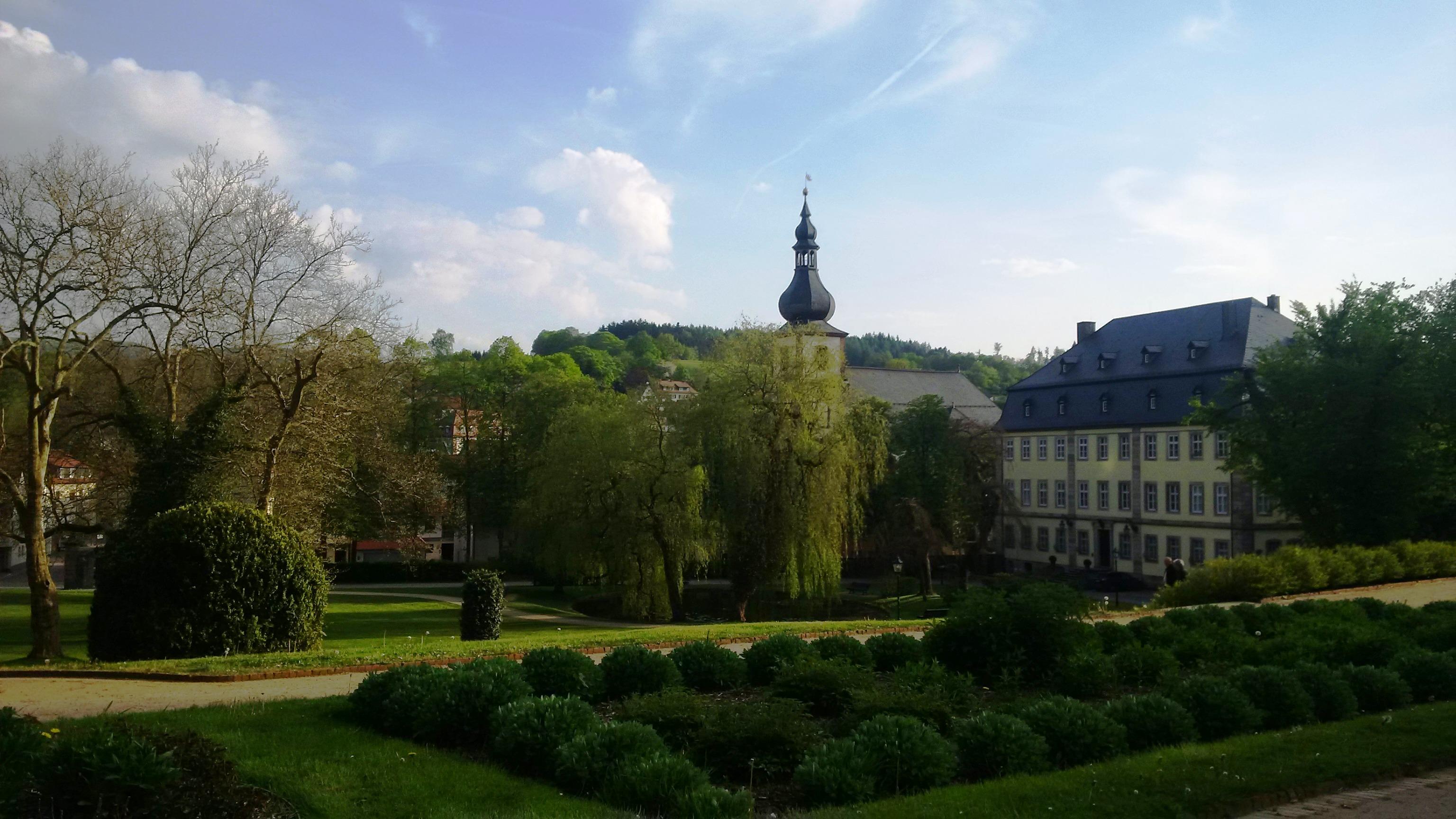 Schlosspark Gersfeld