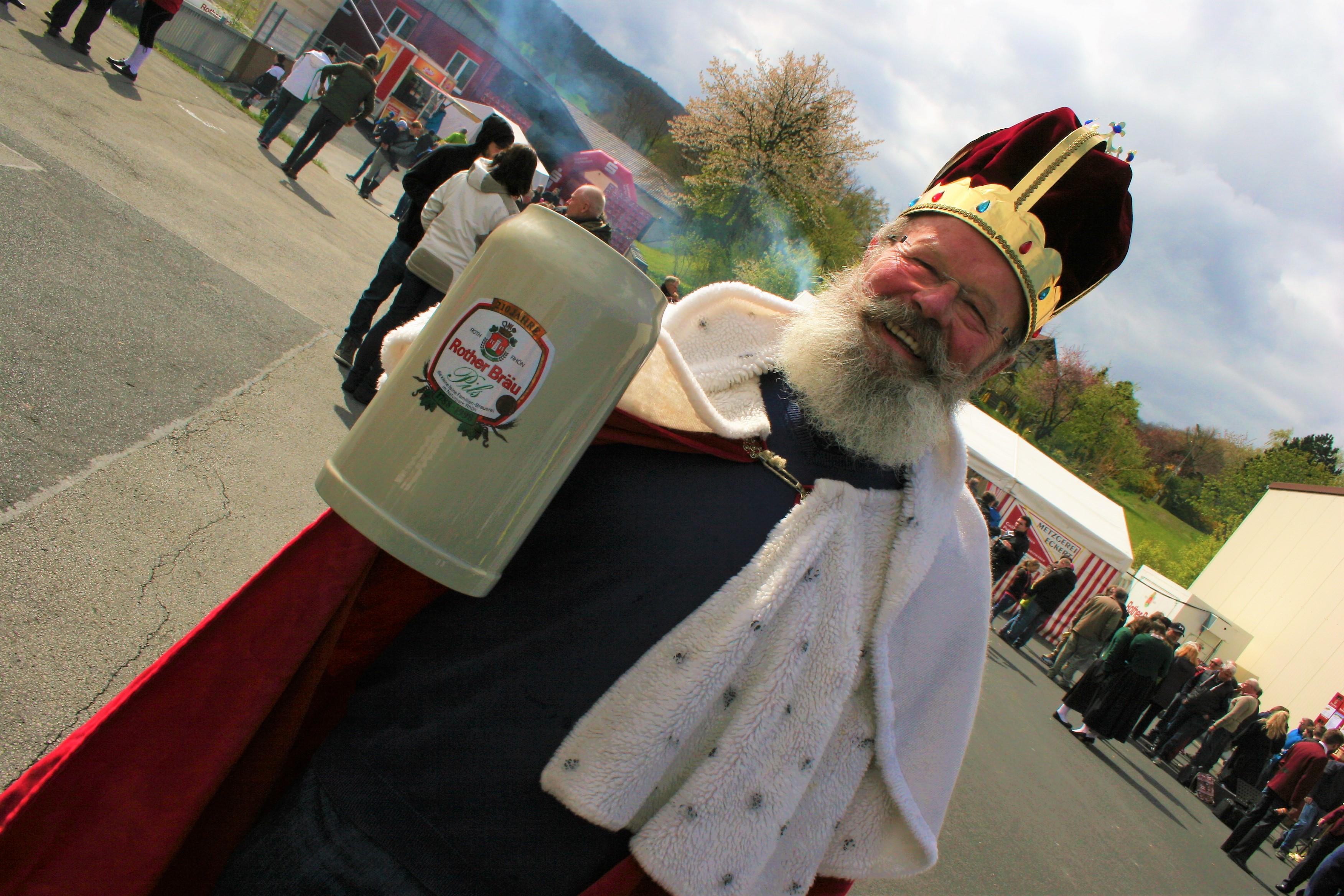 Der Bierkönig der Rother Bräu