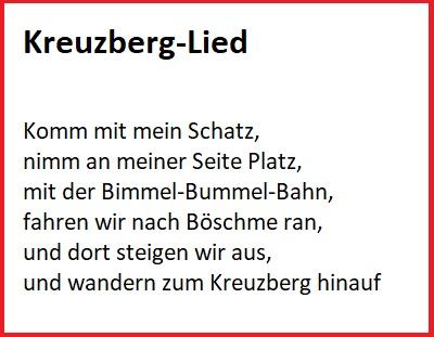 Kreuzberglied